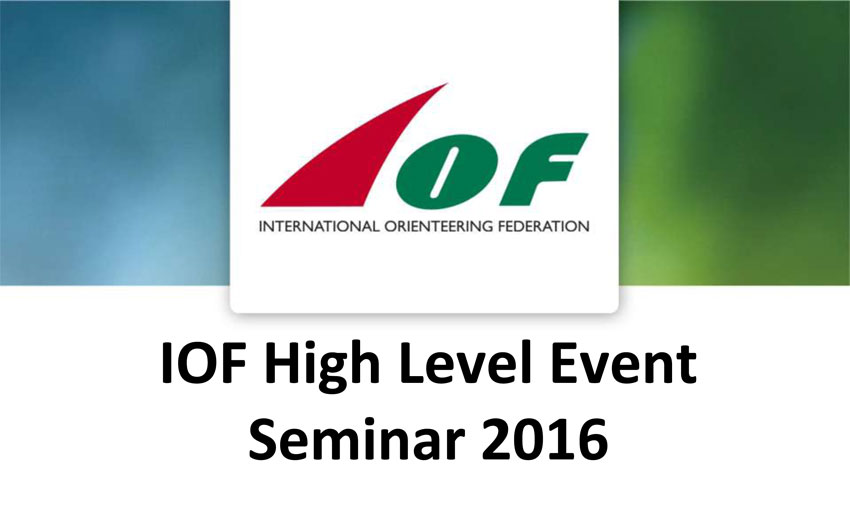 High Level Event Seminar
