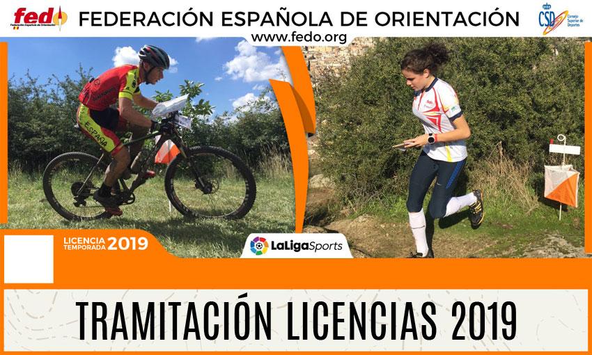 Licencias FEDO 2019