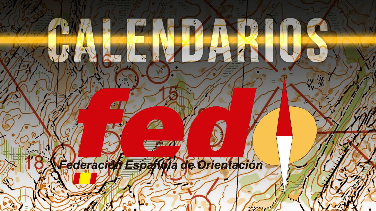 Calendarios FEDO 2019