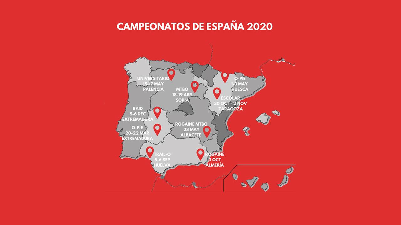 Campeonatos de España FEDO 2020